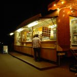 Gastronomie, exklusive Fahrgeschäfte, historischer Jahrmarkt, Rummel, Volksfest, Jahrmarkt, Stuttgart, Killesberg