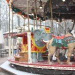 Karussell, exklusive Fahrgeschäfte, historischer Jahrmarkt, Rummel, Volksfest, Stuttgart, Killesberg