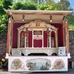Orgel, exklusive Fahrgeschäfte, historischer Jahrmarkt, Rummel, Volksfest, Jahrmarkt, Stuttgart, Killesberg