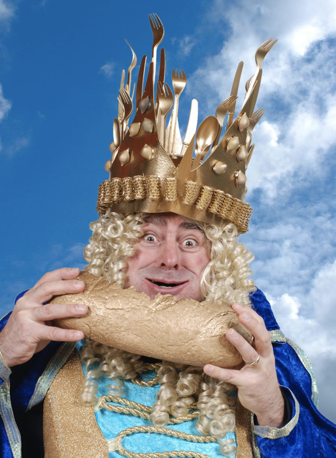 König Nimmersatt - Kaspertheater, Kinder, Spass, Unterhaltung, Comedy