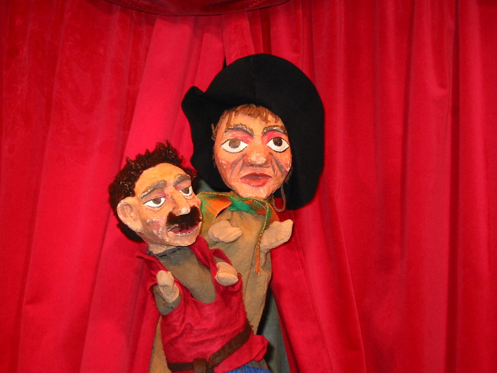 die Räuber vom Kasperwald - Kaspertheater, Kinder, Spass, Unterhaltung, Comedy