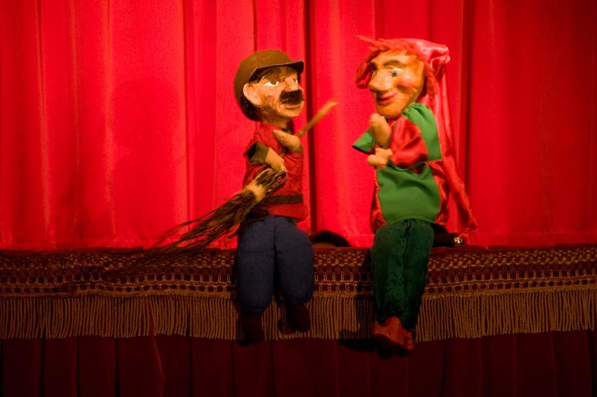Der Strassenfeger Fridolin - Kaspertheater, Kinder, Spass, Unterhaltung, Comedy