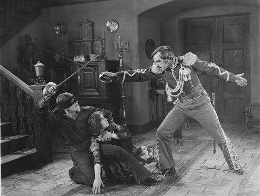 Das Zeichen des Zorro, Stummfilm, Richard Siedhoff