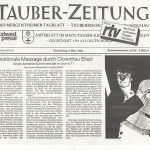 Tauber-Zeitung, Clown Eliszi