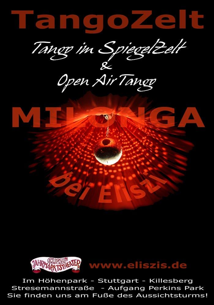 Tangozelt, Tango, Milonga, Stuttgart, Open-Air